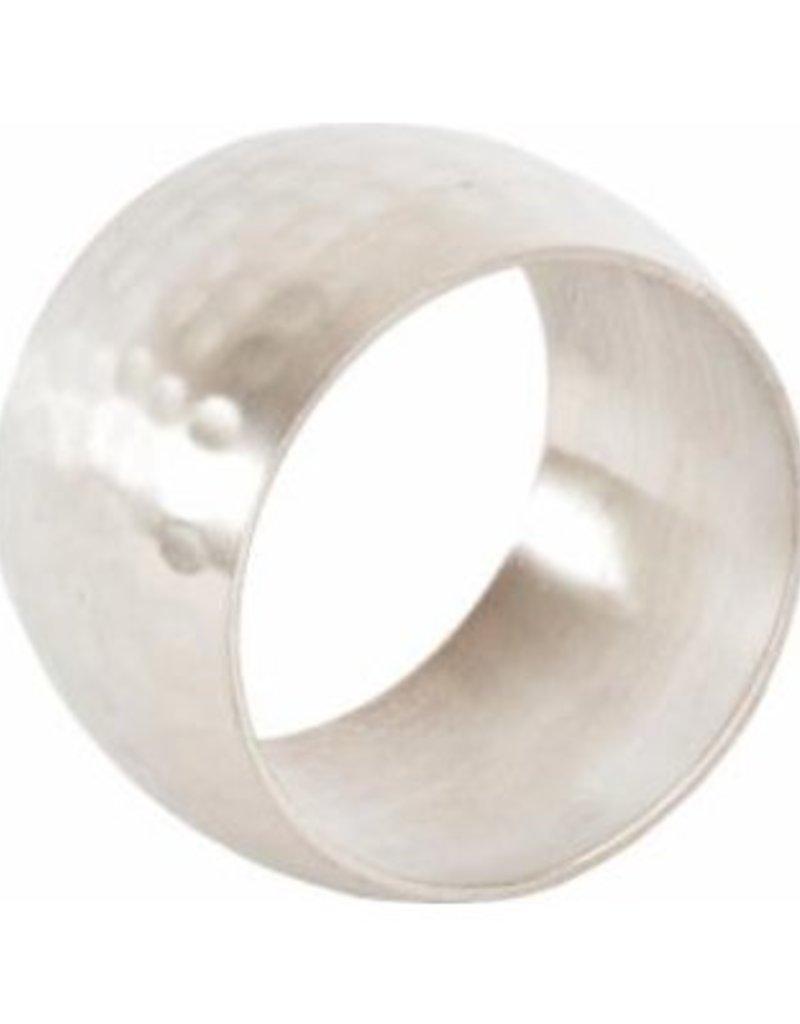 Saro Trading Company Hammered Napkin Ring