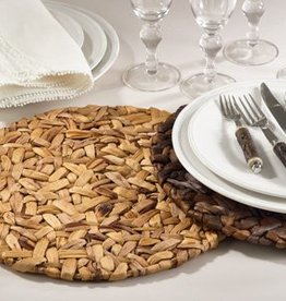 Saro Trading Company Woven Round Placemat