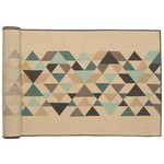 Cotton/Linen Tessellate Table Runner