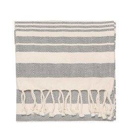 Danica Hamman Black Stripe Hand Towel