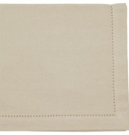 Danica Hemstitch Light Taupe Napkin