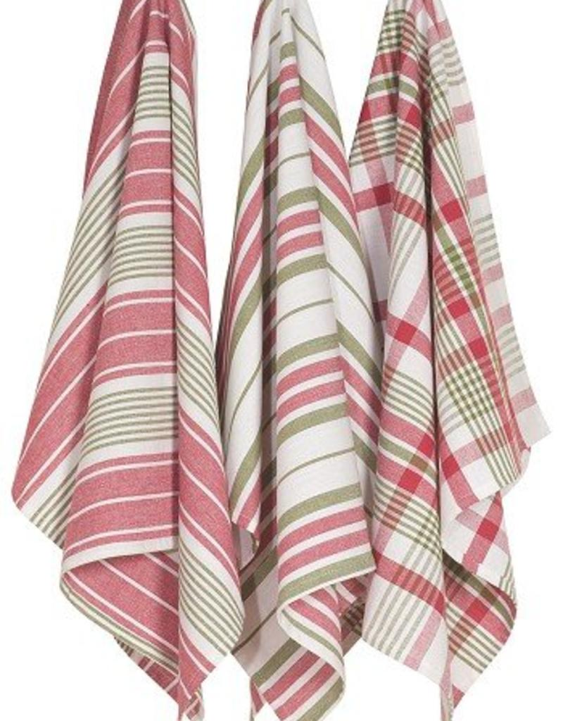 Danica Holiday Jumbo Tea Towels Set of 3