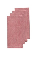 Danica Red Chambray Napkins, Set of 4