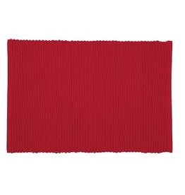 Danica Ribbed Chili Placemat