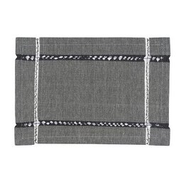 Danica Tangier Knotted Black Placemat