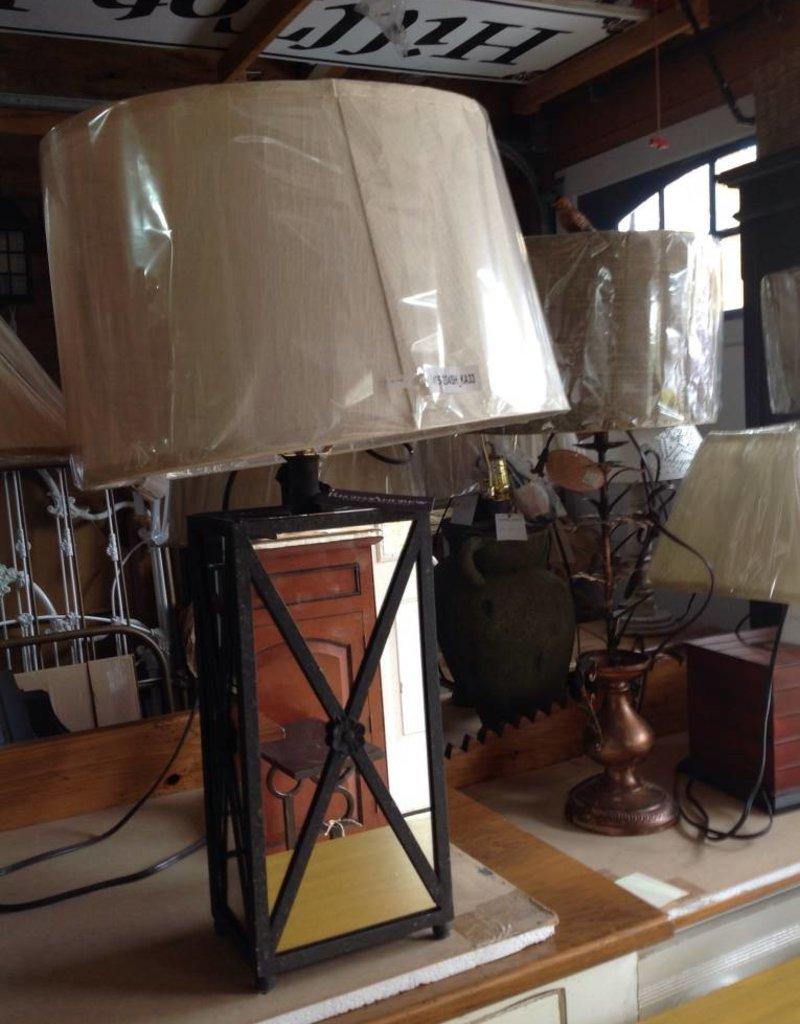 Regina Andrews Antique Mirror Frame Lamp