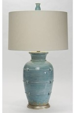 Natural Light Aphrodite Cyprus Blue Table Lamp