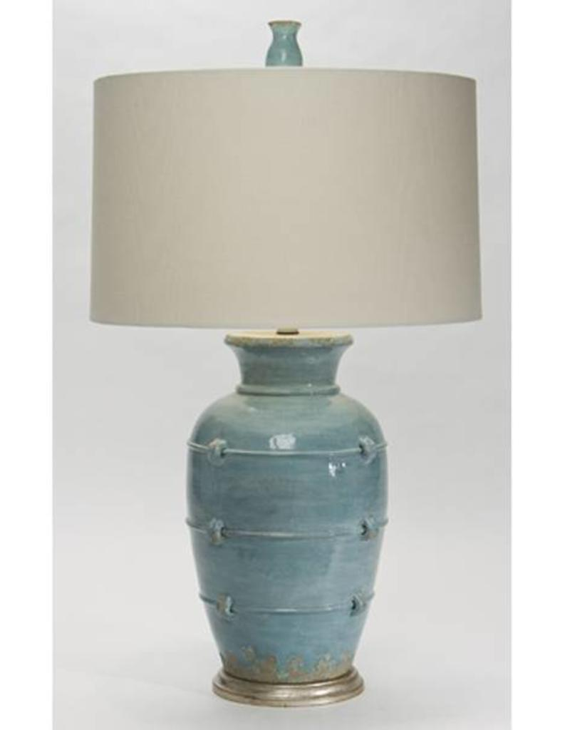 The Natural Light Aphrodite Cyprus Blue Table Lamp