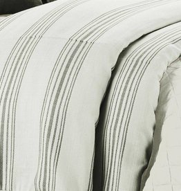 HiEnd Accents Stripe Duvet Super Queen