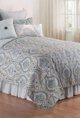 C&F Enterprises Amherst Blue King Quilt Set