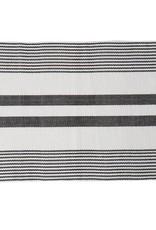 C&F Enterprises Black & White Striped Placemat