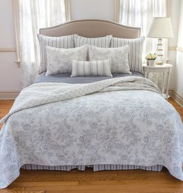 C&F Enterprises Clementina Cement Full / Queen Quilt