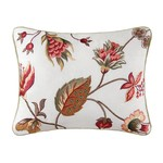 Embroidered Floral Toss Pillow