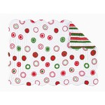 C&F Enterprises Placemat Quilted White with Circles