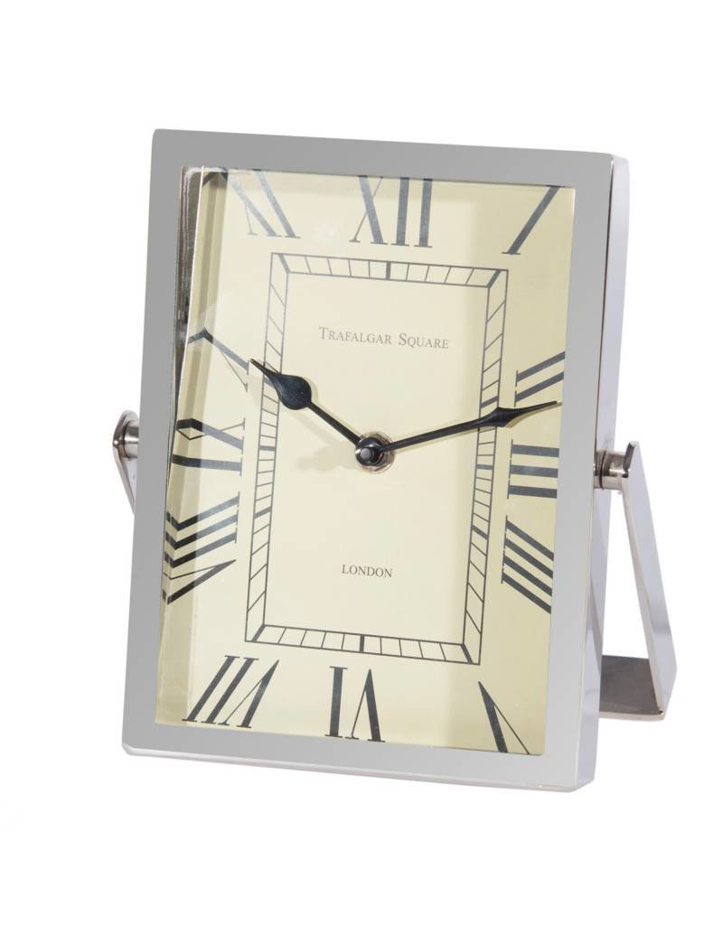 Canfloyd Nickel Table Clock