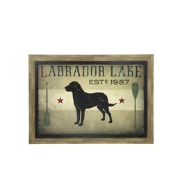 Style Craft Home Collection Labrador Lake Textured Print