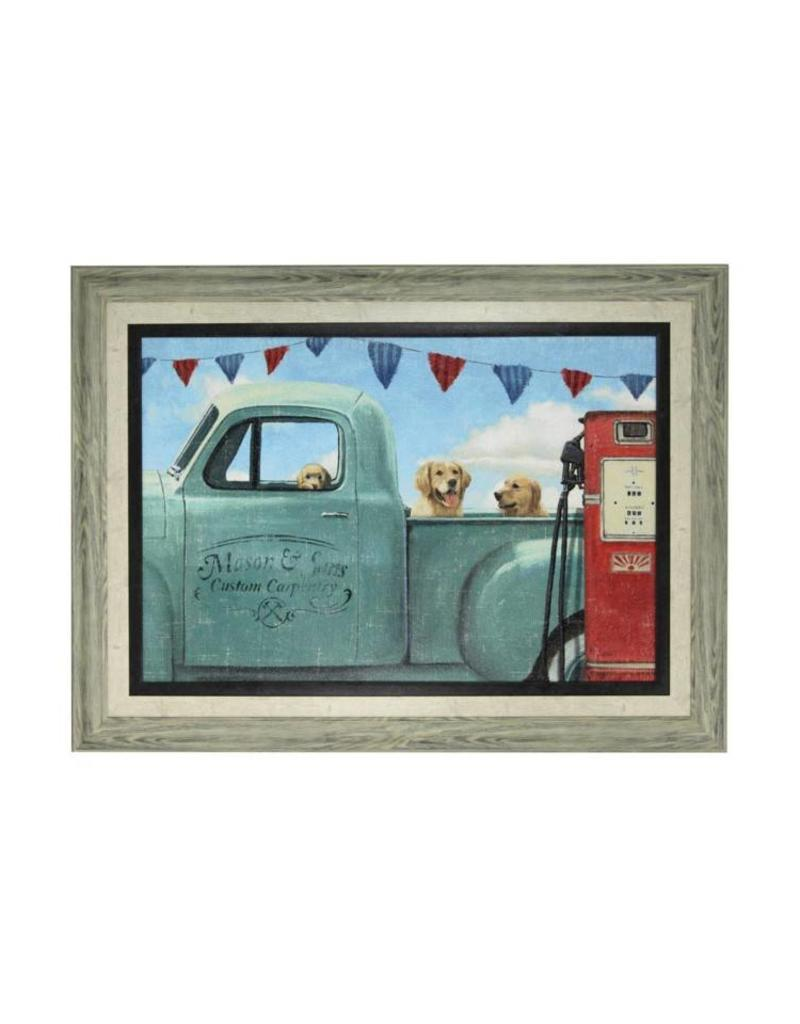 Style Craft Home Collection Lets Go For A Ride Print