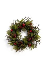 "ADV 24"" Cedar & Bell Wreath"