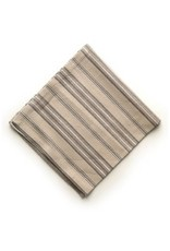 ADV Napkin Set of 4 Beige/White Stripe