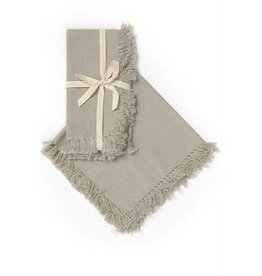 ADV Napkin Set of 4 Solid Fringe