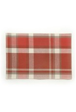 ADV Red & White Plaid Placemat