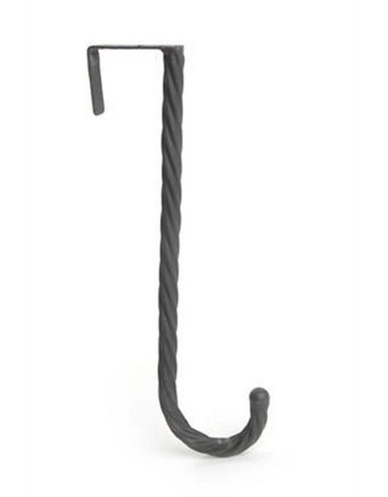 ADV Twisted Black Iron Wreath Hanger