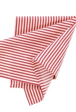 Indaba Red Ticking Napkins, Set of 4