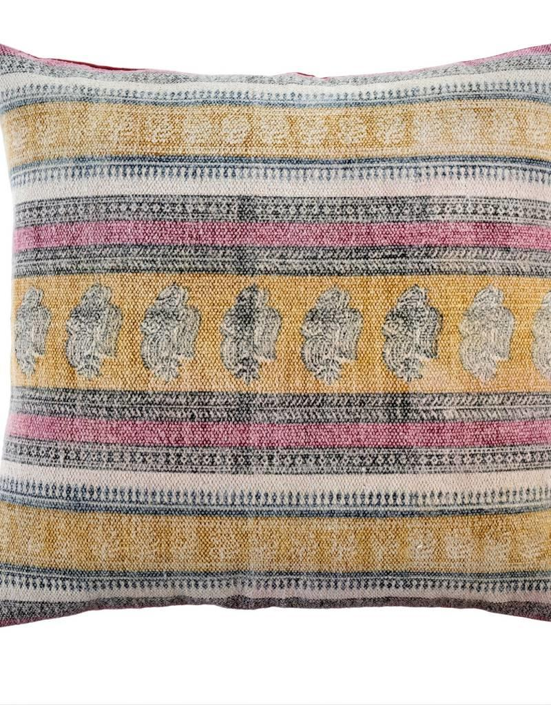 Indaba Stonewashed Woven Toss Pillow