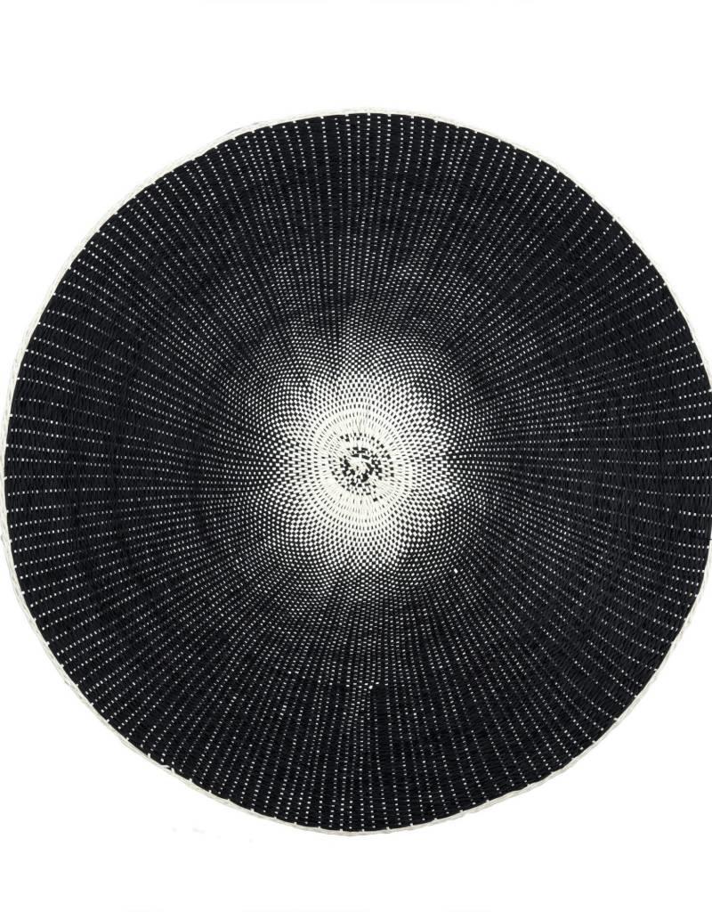 Indaba Willa Placemat, Black