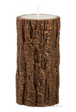 Tag ltd Gilded Tree Bark 3x6 Pillar Antique Copper