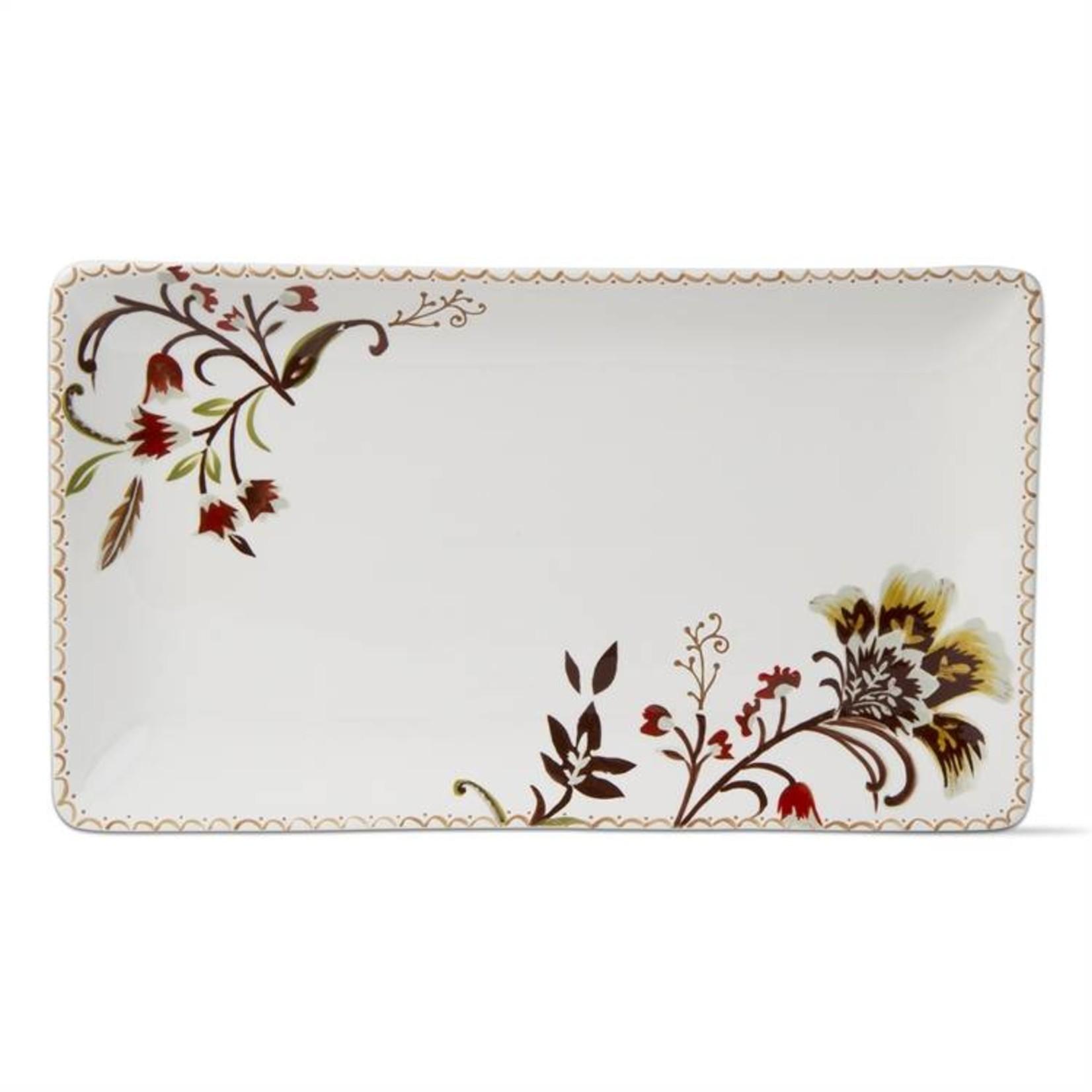 Autumn Bloom Rectangular Platter