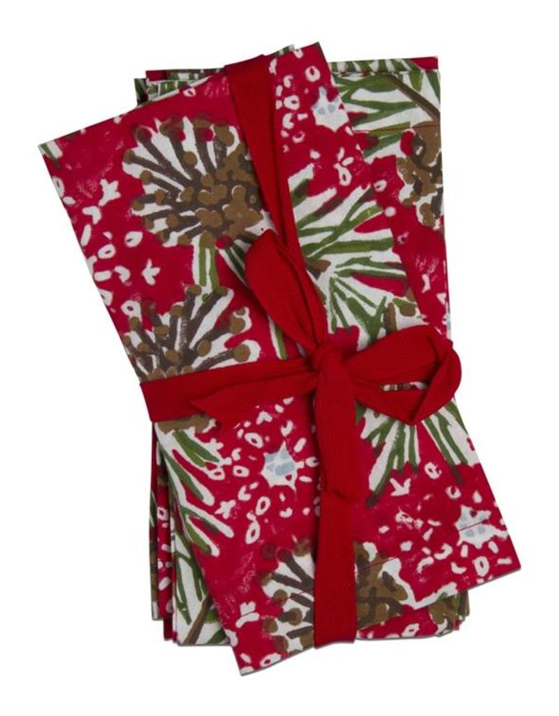 Tag ltd Tis the Season Napkin Set of 4