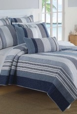 New New Horizons Michael Queen Quilt and Shams