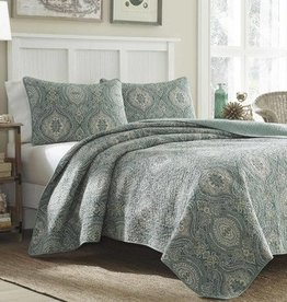 New New Horizons Wendy King Quilt and Shams