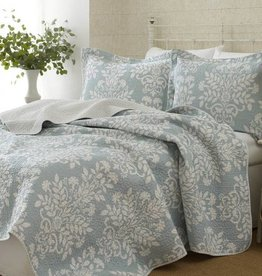 New New Horizons Adela Blue Queen Quilt
