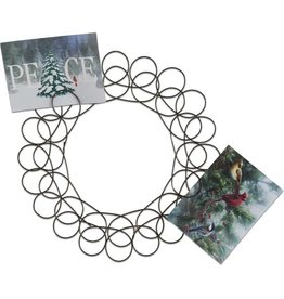 Tag ltd Spiral Wreath Greeting Card Holder