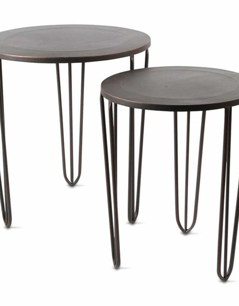 Tag ltd Burnished Copper Side Table - Large