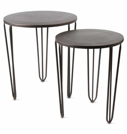 Tag ltd Burnished Copper Side Table - Small