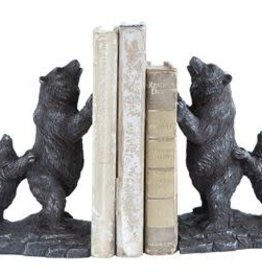 Creative Co-op Bear Bookends, Set of two