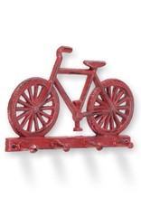 Abbott Antique Red Bicycle Wall Hook