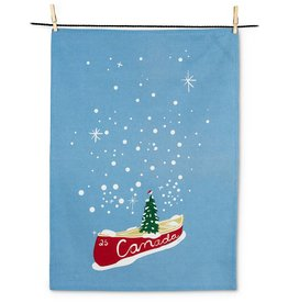 Abbott Canoe & Tree Tea Towel
