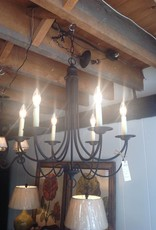 Plymouth Six Light Candelabra Chandelier