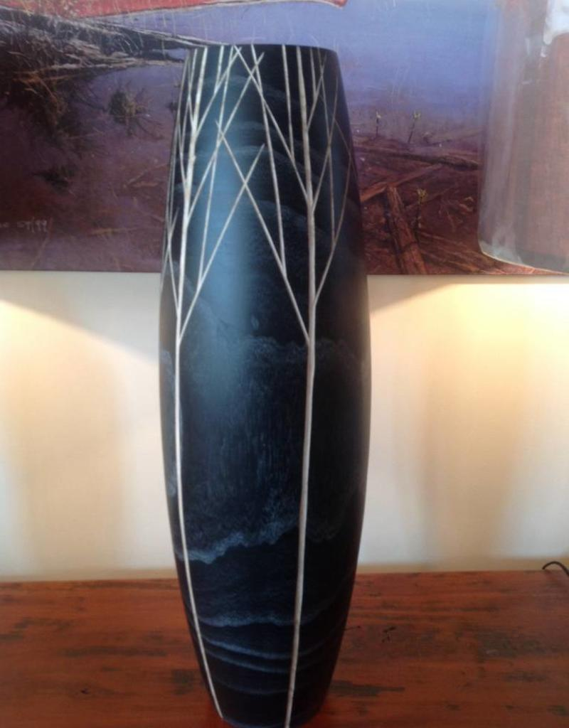 Cyan Vase