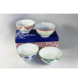 PPD Belize Bowls - Set of 4