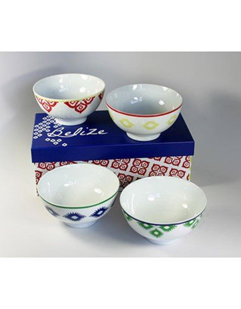 PPD Belize Bowls - Set of 4