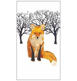 Paper Products Design Winter Fox, Guest Towel