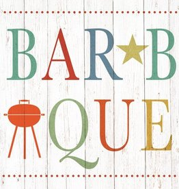 Paper Products Design Summer Barbeque Beverage Serviettes