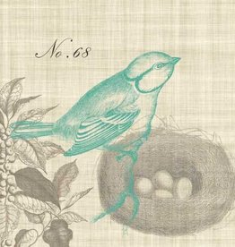 Paper Products Design Piedmont Bird Lunch Serviettes