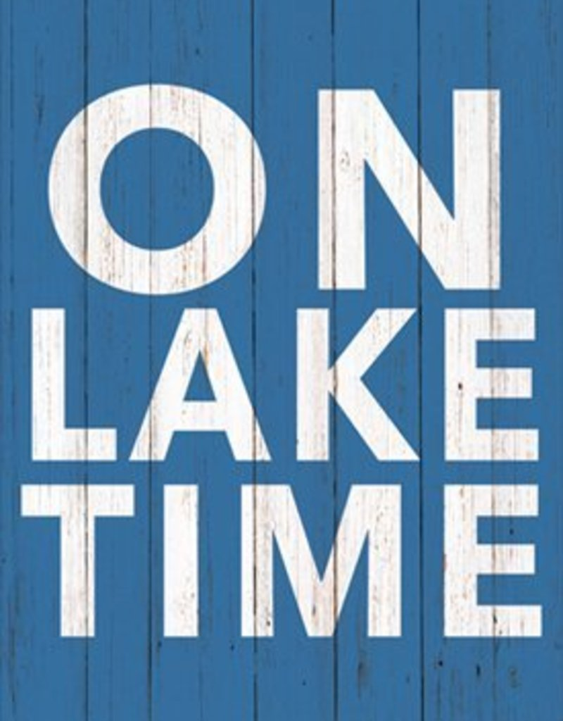 Paper Products Design On Lake Time Guest Towel