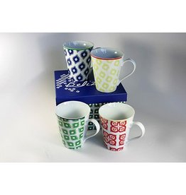 Paper Products Design Belize Boxed Mug Set of 4